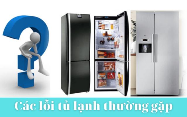 Các Lỗi Cơ Bản Của Tủ Lạnh Min
