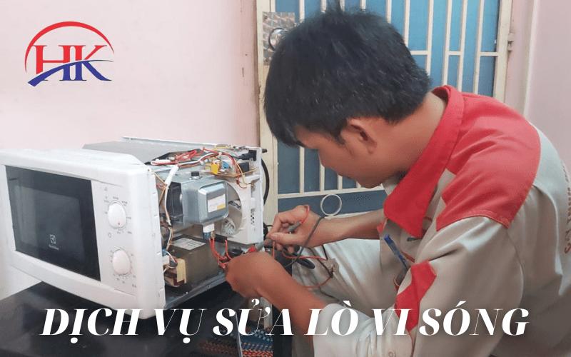Dịch vụ sửa chữa lò vi sóng