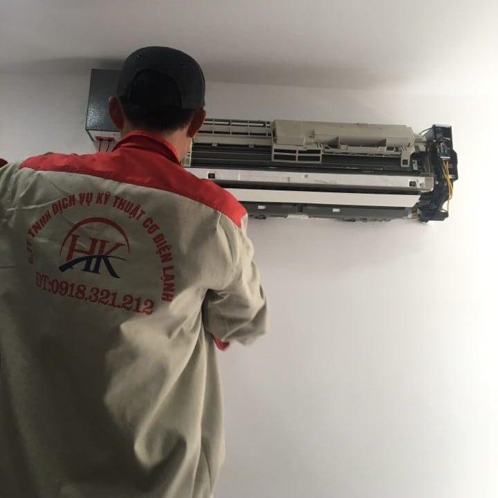 Dịch vụ sửa máy lạnh tại quận 1 của Điện Lạnh HK
