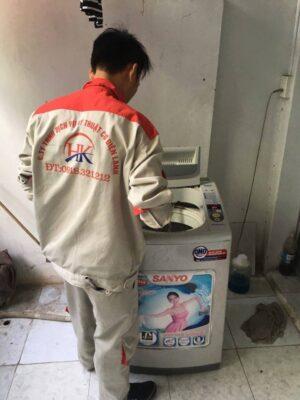 Dịch vụ sửa máy giặt uy tín tại nhà Điện Lạnh HK