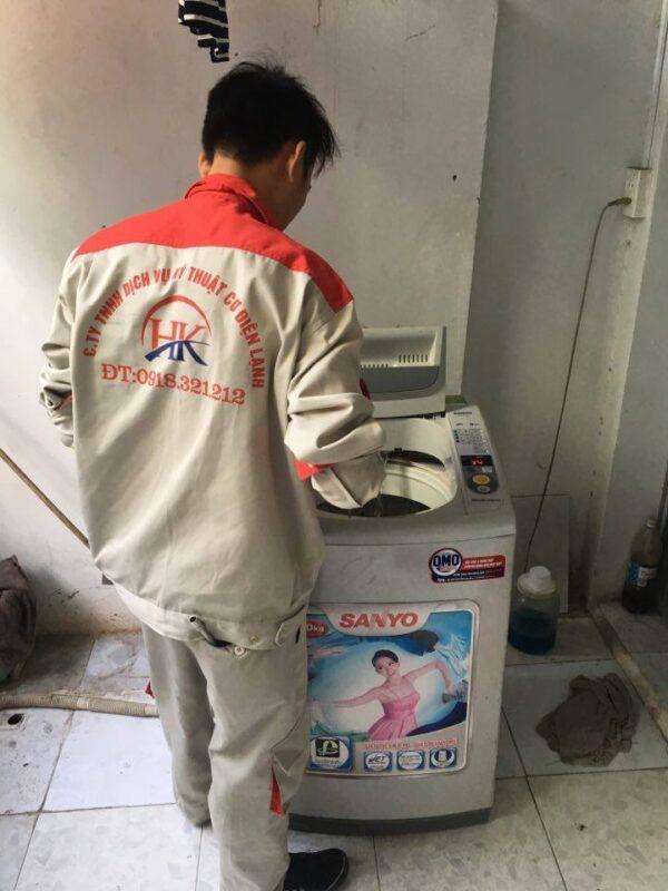 Một số hư hỏng thường gặp khi sử dụng máy giặt