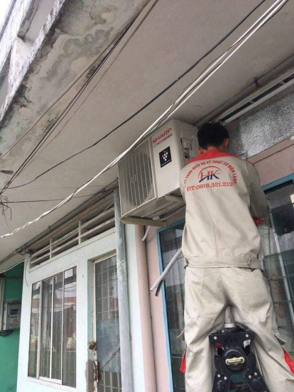 Dịch vụ sửa máy lạnh uy tín tại nhà