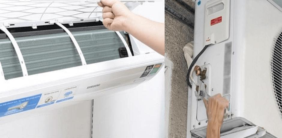 Dịch vụ vệ sinh máy lạnh quận 2 Điện Lạnh HK