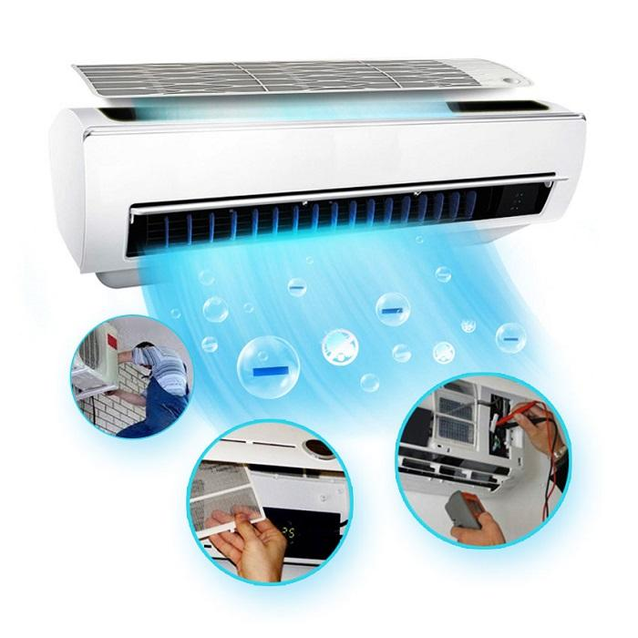 Quy trình vệ sinh máy lạnh quận tân phú chuyên nghiệp tại Điện Lạnh HK