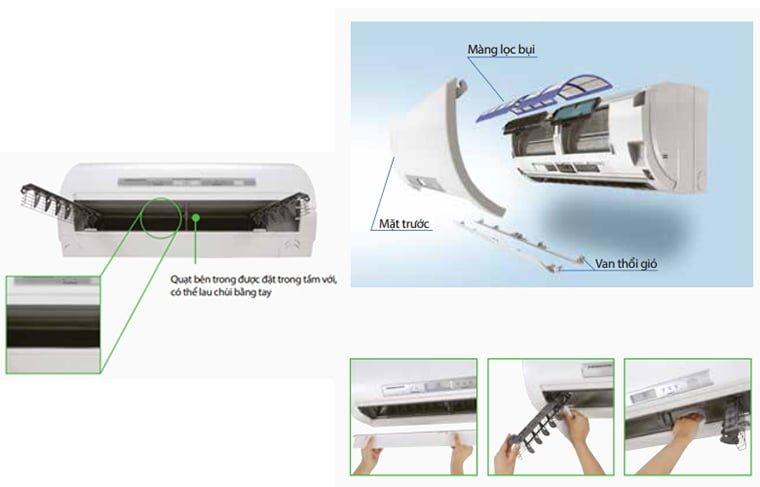 Quy trình vệ sinh máy lạnh quận 8 Điện Lạnh HK