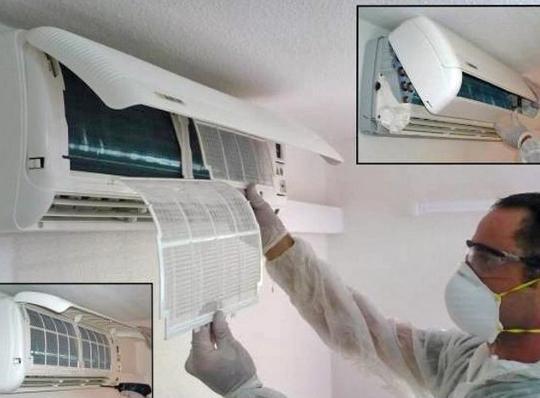Dịch vụ vệ sinh máy lạnh hóc môn uy tín, chất lượng
