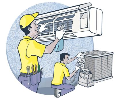 Điện lạnh HK sở hữu đội ngũ nhân viên sửa máy lạnh giàu kinh nghiệm