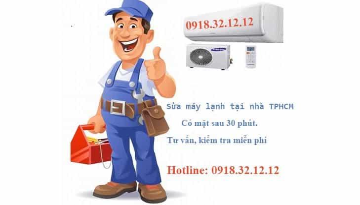 Dịch vụ sửa máy lạnh tại nhà nội thành TPHCM