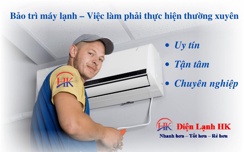 Bảo trì máy lạnh – Việc làm phải thực hiện thường xuyên