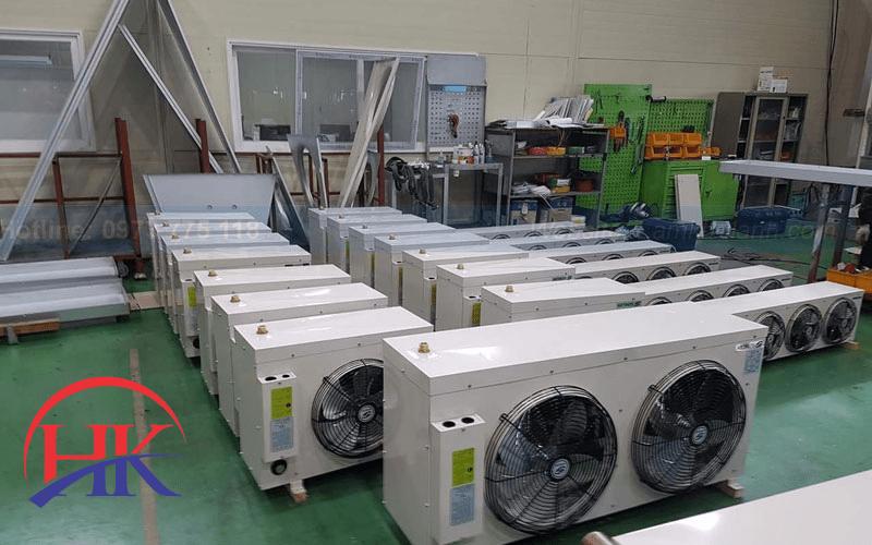 Bảo trì máy lạnh hàng tháng khi lắp tại các xí nghiệp