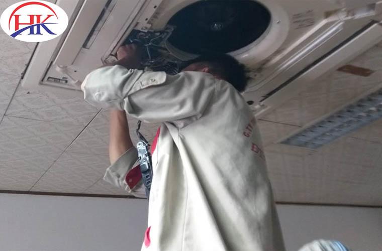 Dịch vụ sửa chữa máy lạnh uy tín tại Điện Lạnh HK