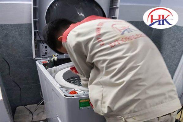 Dịch vụ vệ sinh máy giặt quận 12