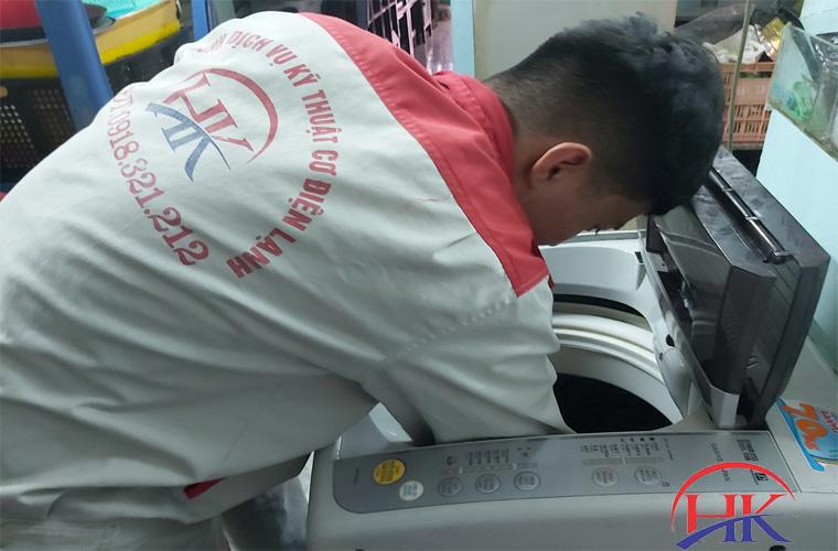 sửa máy giặt tại Điện Lạnh HK