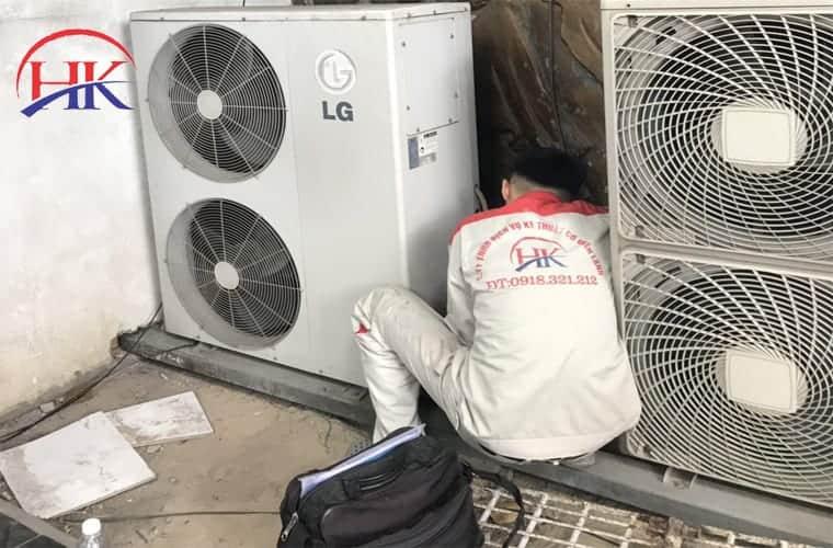 tháo lắp máy lạnh