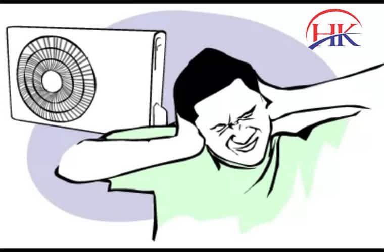 máy lạnh phát ra tiếng ồn