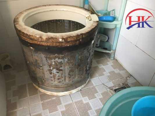 vệ sinh máy giặt