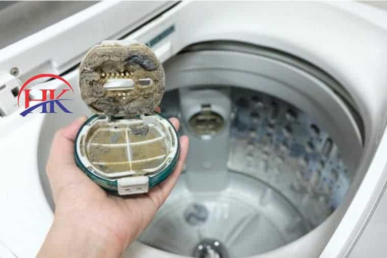 vệ sinh máy giặt toshiba