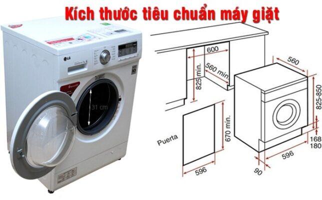Kich Thuoc May Giat Hk