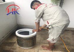 vệ sinh máy giặt quận 1 tại Điện Lạnh HK