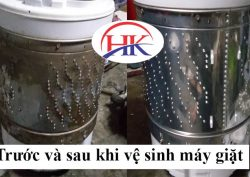 Dịch vụ vệ sinh máy giặt quận Gò Vấp tại Điện Lạnh HK